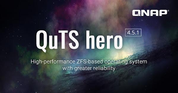 QNAP atualiza o seu sistema operativo QuTS hero baseado em ZFS