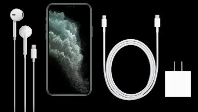 محتويات علبة iphone 11 pro