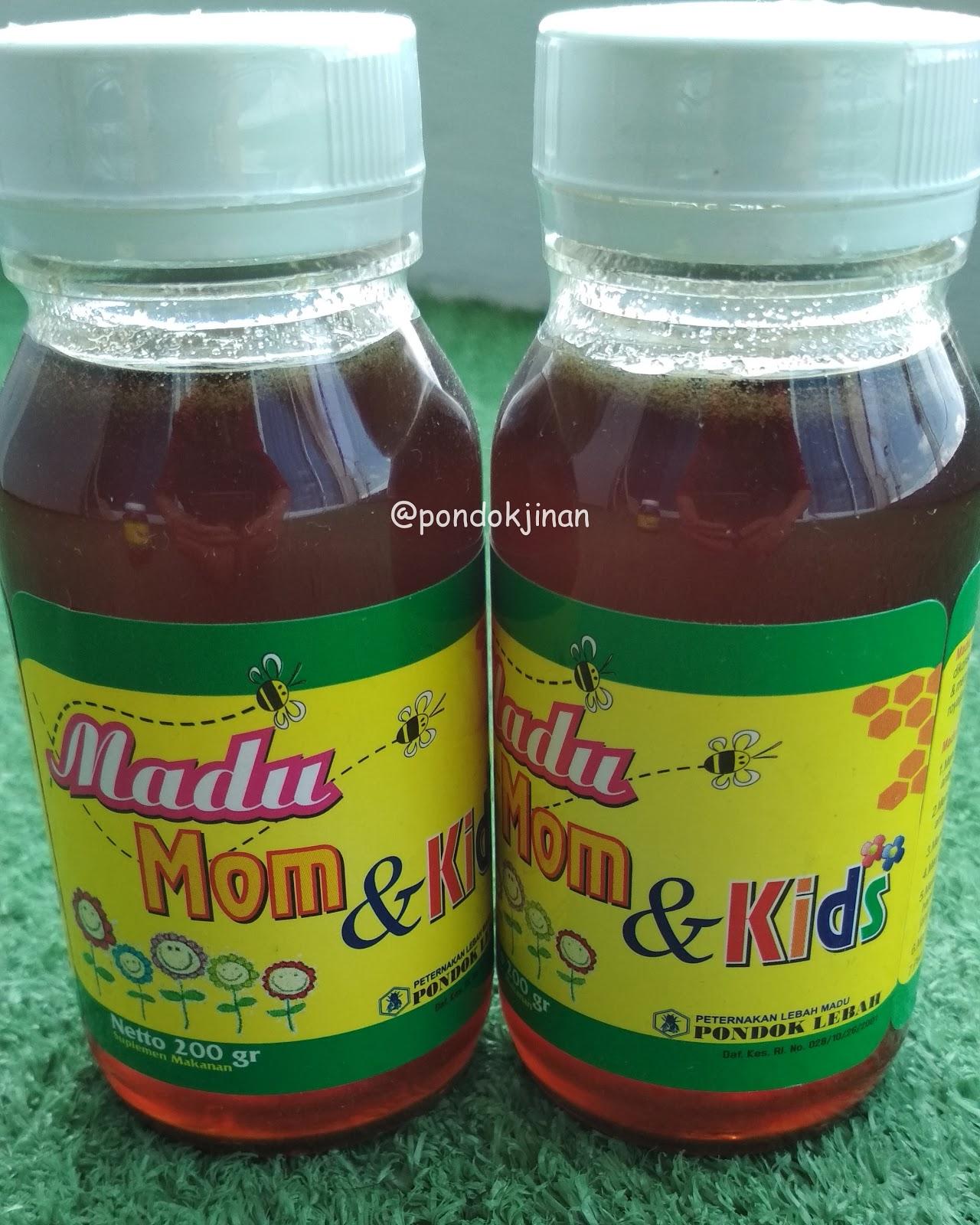 Jual Madu MOM and KIDS (Madu + Royal Jelly - 200gr) Asli dan Murni Peternak Lebah