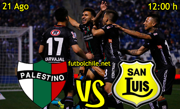 Ver stream hd youtube facebook movil android ios iphone table ipad windows mac linux resultado en vivo, online: Palestino vs San Luis