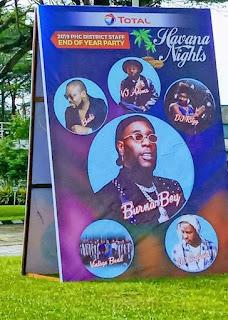 GX GOSSIP: Burna Boy, VJ Adams, DJ Ritzy,  others for Total Havana Party in Port Harcourt
