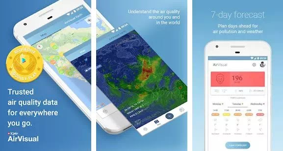 Aplikasi Pengukur Polusi Udara Terbaik di Android-1