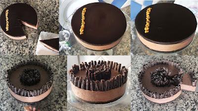 تشيز كيك بالشوكولاته دون الحاجة الى شراء جبن /cheesecake chocolate no bake