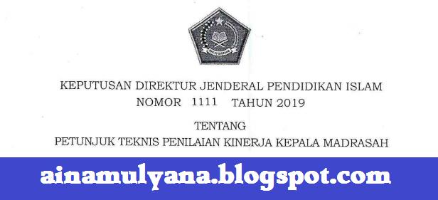 LAMPIRAN KEPUTUSAN DIRJEN PENDIS NOMOR 1111 TAHUN 2019