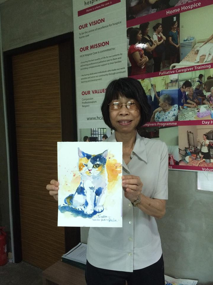 Singapore Community Cats Tamasan