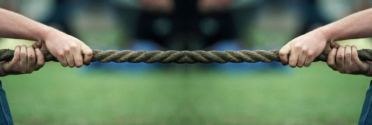 Does work always have to be a tug of war?