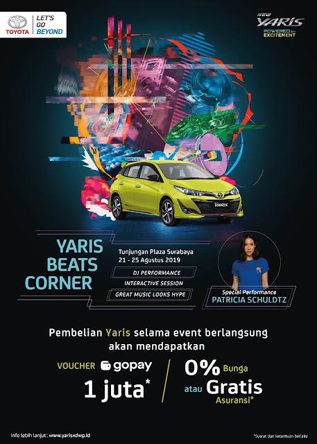 Yaris Beats Corner Surabaya