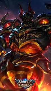 Tigreal Fallen Guard Heroes Tank of Skins V3