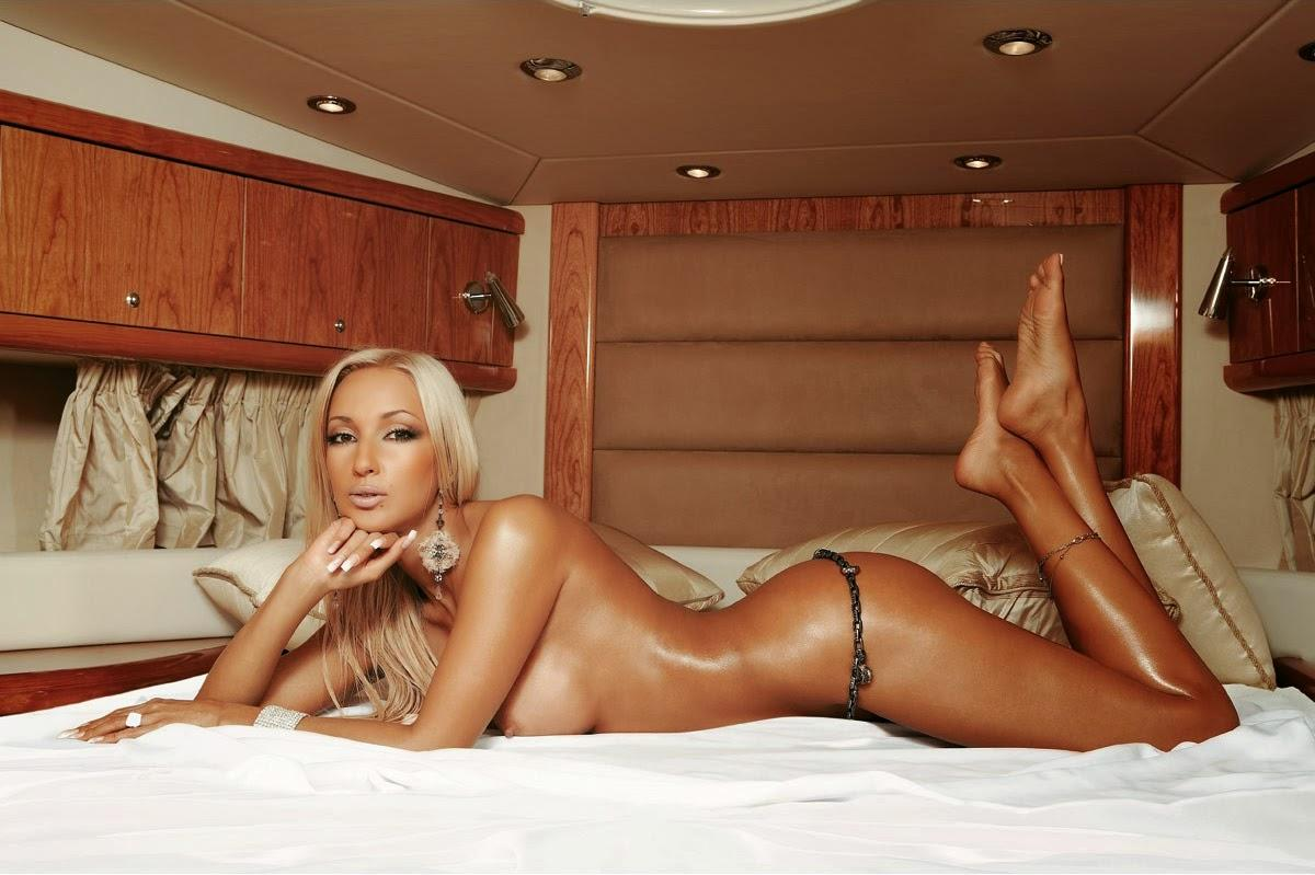 Olga Buzova Fully Naked In The Seychelles Celebrity News