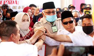 Partai Gerindra Merapat, Potensi Kemenangan IDP-Dahlan Makin Kuat