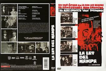 Carátula dvd: La ley del hampa (1960) (The Rise and Fall of Legs Diamond)