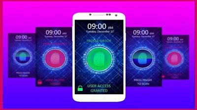 تنزيل تطبيق Fingerprint Lock Screen لقفل شاشة الهاتف بالبصمة
