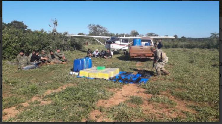 Avioneta secuestrada en operativo en Paraguay en mayo / SENAD
