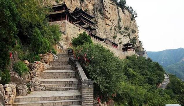 วิหารเจ้าแม่หนี่วา (Nüwa Palace: Wahuang Palace: 娲皇宫及石刻)