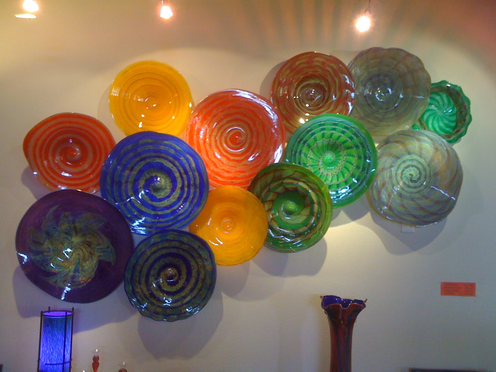 Large Glass Art Pieces