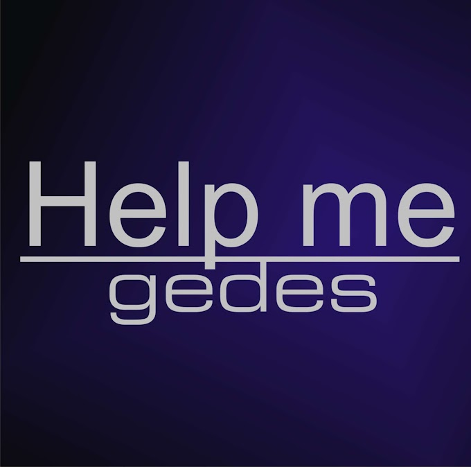 Gedes set to drop anothe new song TITLE: HELP ME on 24th september 2021, Stay tune