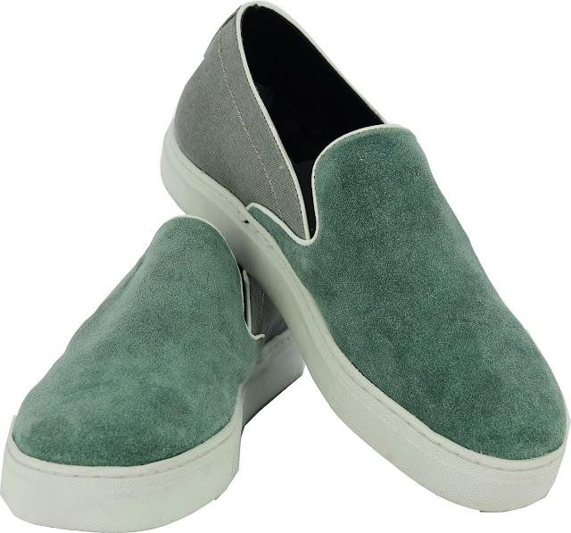 Alberto Torresi Saputo Sea Green Casual Shoes - Price Rs 2995-