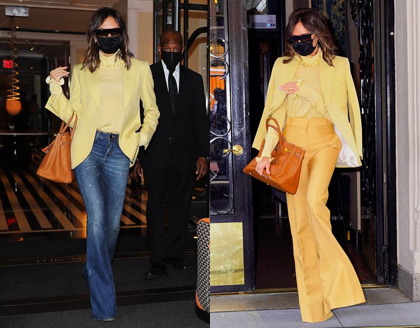 Cómo unos pantalones transforman tu look de día a noche (por Victoria Beckham)
