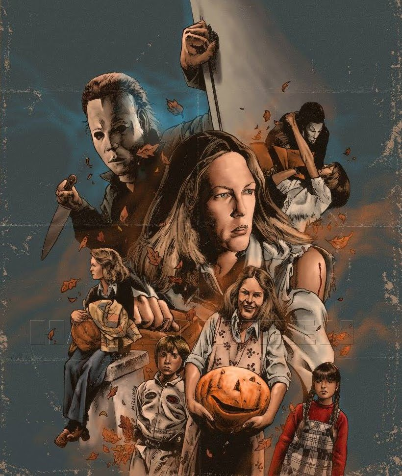 Fan Art New Halloween Character Posters Unveiled