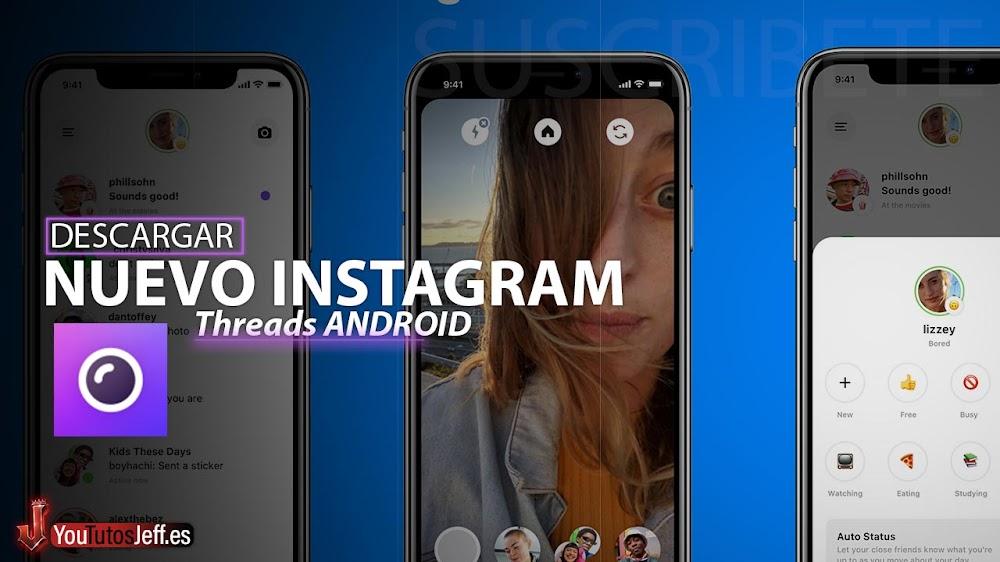 El Nuevo Instagram😨Descargar Threads para Android