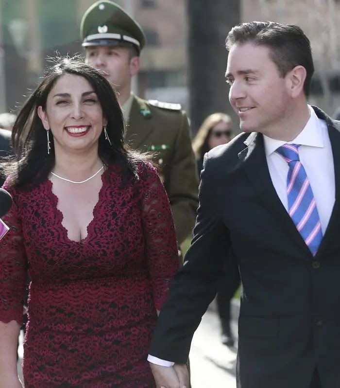 Karla Rubilar y pololo Christian Pino