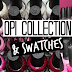 O.P.I Collection and Swatches - Whites and Pinks
