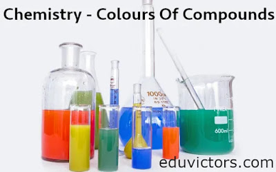 Chemistry - Colours Of Compounds For CBSE Class 12, 11, 10 and 9  (#class12Chemistry)(#class11Chemistry)(#ntse)(#neet)(#eduvictors)