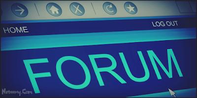 النشر-في-المنتديات-Forums