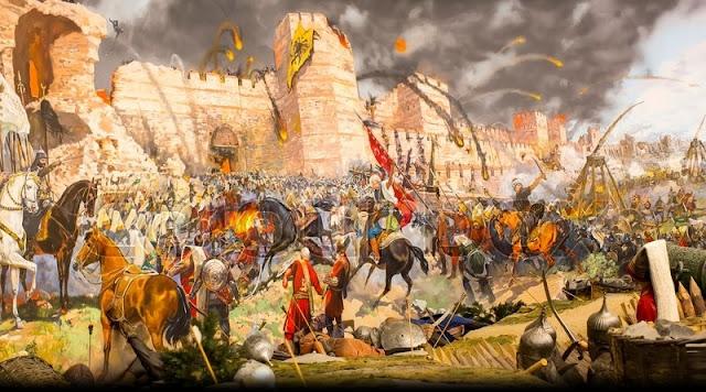 Penyerangan Kota Konstantinopel Oleh Sultan Muhammad Al-Fatih