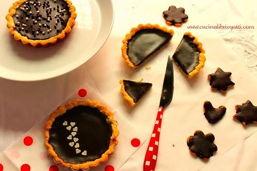 crostata cioccolato cardamomo