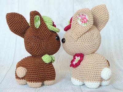 amigurumi crochet easter bunny
