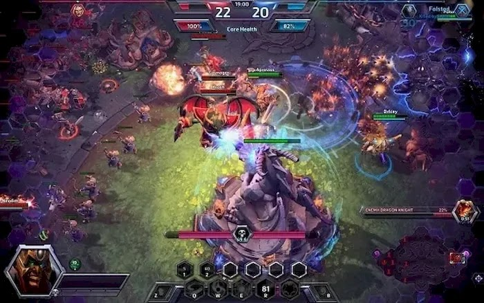 Popular PC MOBA Games Heroes of the Storm