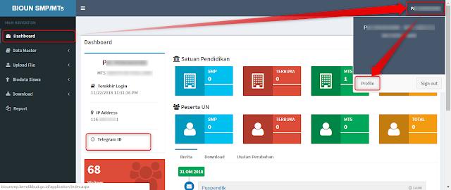 Cara Mendapatkan ID Telegram BIOUN