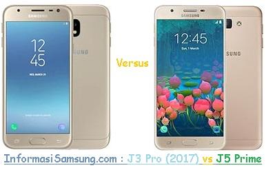 Harga dan Spesifikasi Samsung J3 Pro (2017) vs J5 Prime
