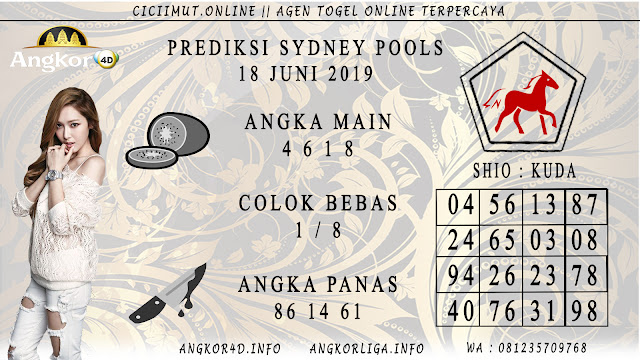 PREDIKSI SYDNEY POOLS 18 JUNI 2019