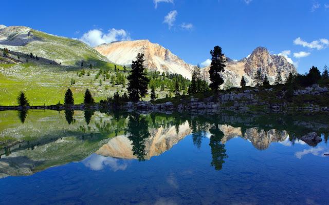 Fanes Sennes Prags Nature Park Wonderful Beauty South Tyrol Italy HD Desktop Wallpaper