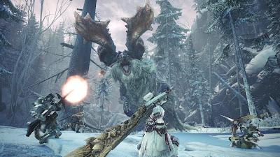 Monster Hunter World Gameplay Images