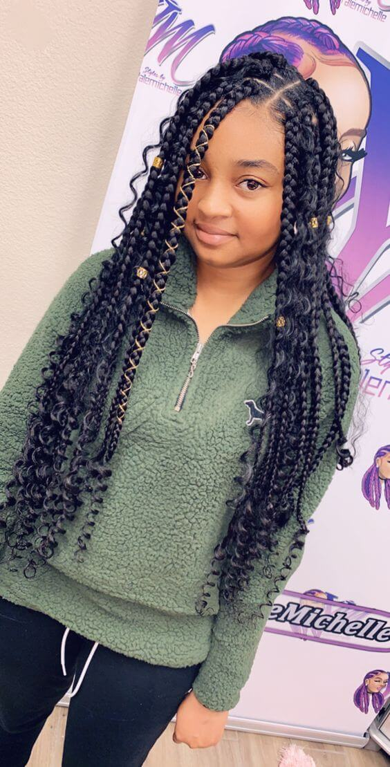32 Fulani Braids Hairstyles For African American That Suit ...