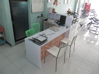 Meja Customer Sevice Untuk Ruang Sempit - Furniture Kantor Semarang