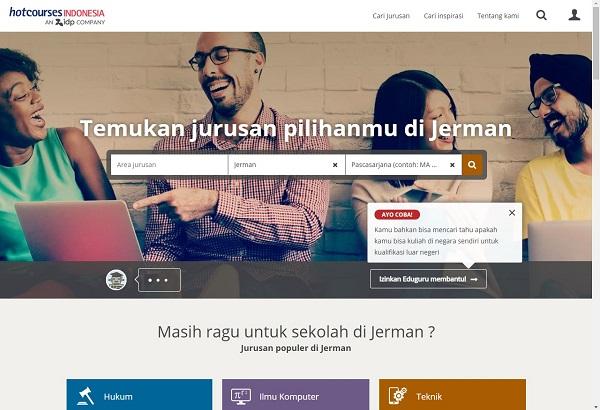 Website untuk Mencari Beasiswa