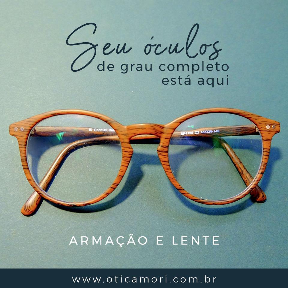 a7154dd2f Ótica Mori, loja totalmente confiável para comprar seus óculos ...
