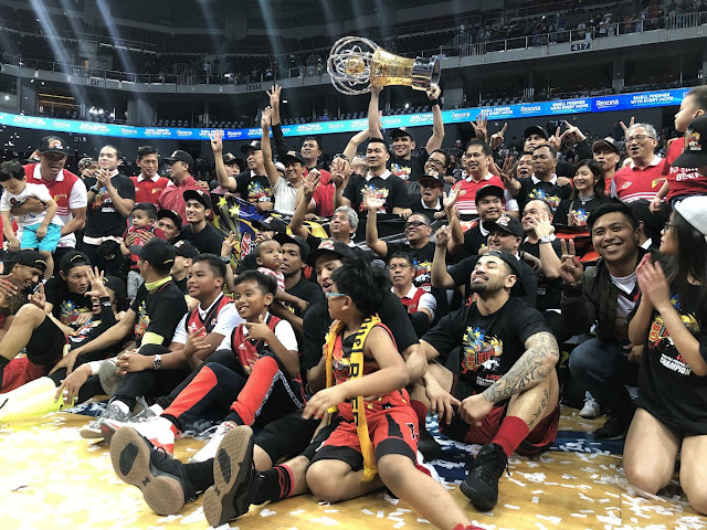 Top photos and videos SMB championship celebration 2017-2018 PBA Philippine Cup