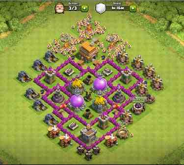 Base Coc Th 6 Terkuat Di Dunia 9
