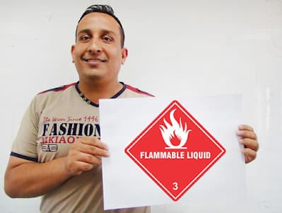 DG Class 3  |  Flammable Liquids