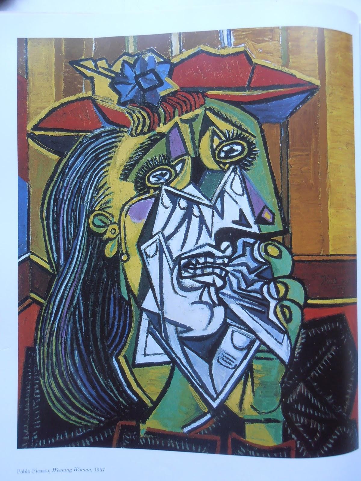 情有獨鐘: 畢卡索哭泣的女人--記一位性情中人的才女-朵拉