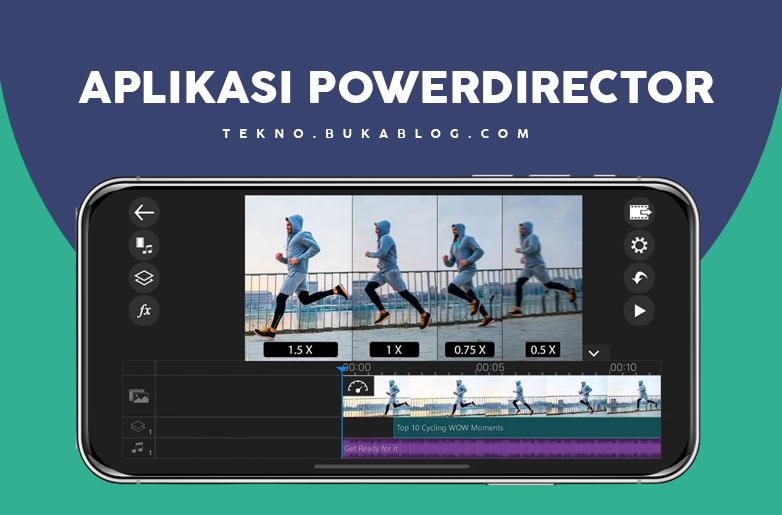 Edit Video dengan aplikasi PowerDirector