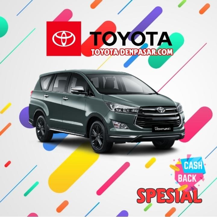 Toyota Denpasar - Lihat Spesifikasi New Venturer, Harga Toyota Venturer Bali dan Promo Toyota Venturer Bali terbaik hari ini.