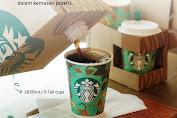 Starbucks Coffee Traveler - Kemasan Praktis Lebaran Buat 8 Orang