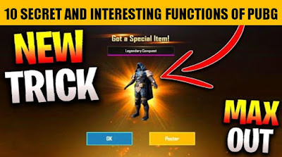 10 Secret and Interesting Functions of PUBG