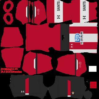 Southampton FC Under Armour 2019/2020, Kit Dream League Soccer 2020